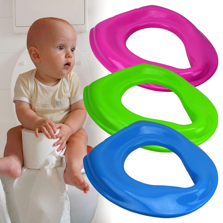 Guilty Gadgets ® Pot Siège pour Enfant bébé Enfant Plastique Réducteur de Toilette pour–Rose