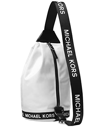 72a8f38b3867d4 Image Unavailable. Image not available for. Color: MICHAEL Michael Kors The Michael  Sling Pack ...