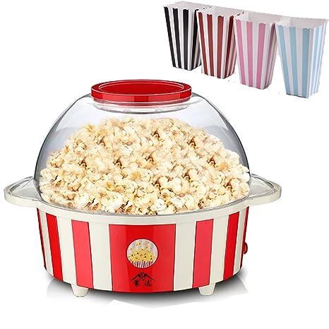Cocinar palomitas de maiz poppers eléctrica máquina incluye 12 cajas de palomitas de maíz