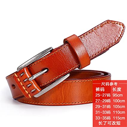 NSSBZZ Birthday Gifts Womens Belt Buckle All Match Korean Version Of The First Layer