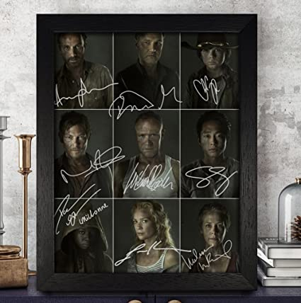 Amazon The Walking Dead Signed Autographed Photo 8x10 Reprint