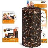 Blackroll Orange (L'Original) - LE rouleau d'automassage avec DVD d'exercices, poster d'exercices et livret
