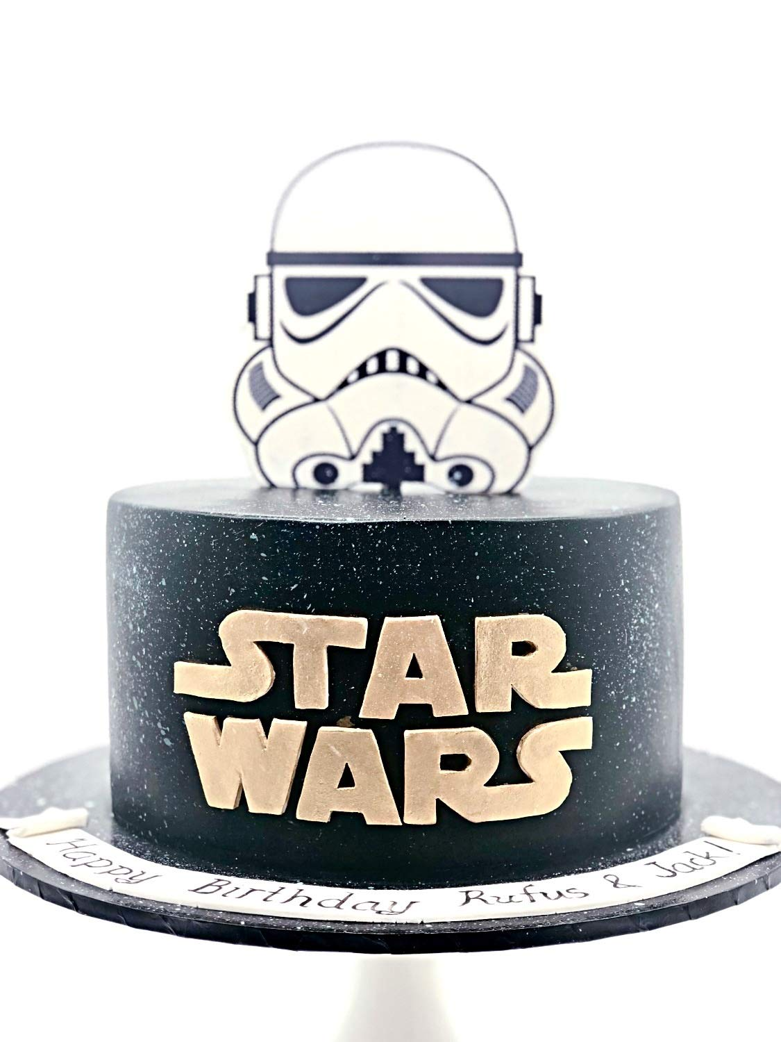 Incredible 3D Hand Crafted Acrylic Stormtrooper Inspired Cake Topper Amazon Personalised Birthday Cards Paralily Jamesorg