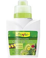 Flower 10722 10722-Abono líquido Cactus y Plantas crasas, 300 ml, No No Aplica, 9.3x6.2x15.2 cm