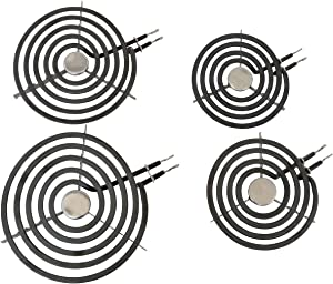 Kitchen Basics 101 WB30T10074 WB30T10078 Electric Range 4 Piece Set Surface Element Burner Kit
