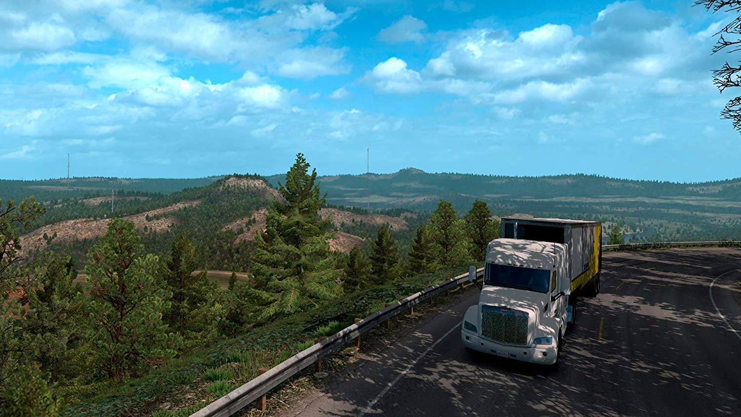 Amazon com: American Truck Simulator Add-on: Oregon (PC DVD