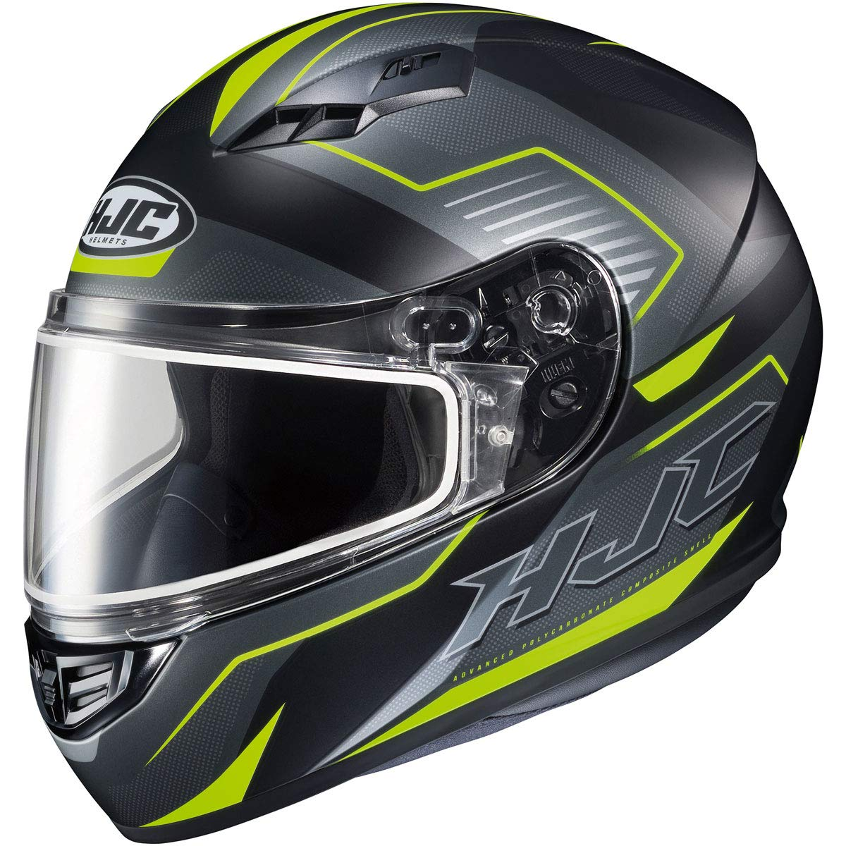 Large 1156-1533-06 HJC CS-R3 Trion Mens Snowmobile Helmet MC-3HSF