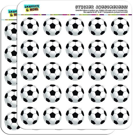 Opaque Soccer Ball Football 1//2 0.5 Planner Calendar Scrapbooking Crafting Stickers