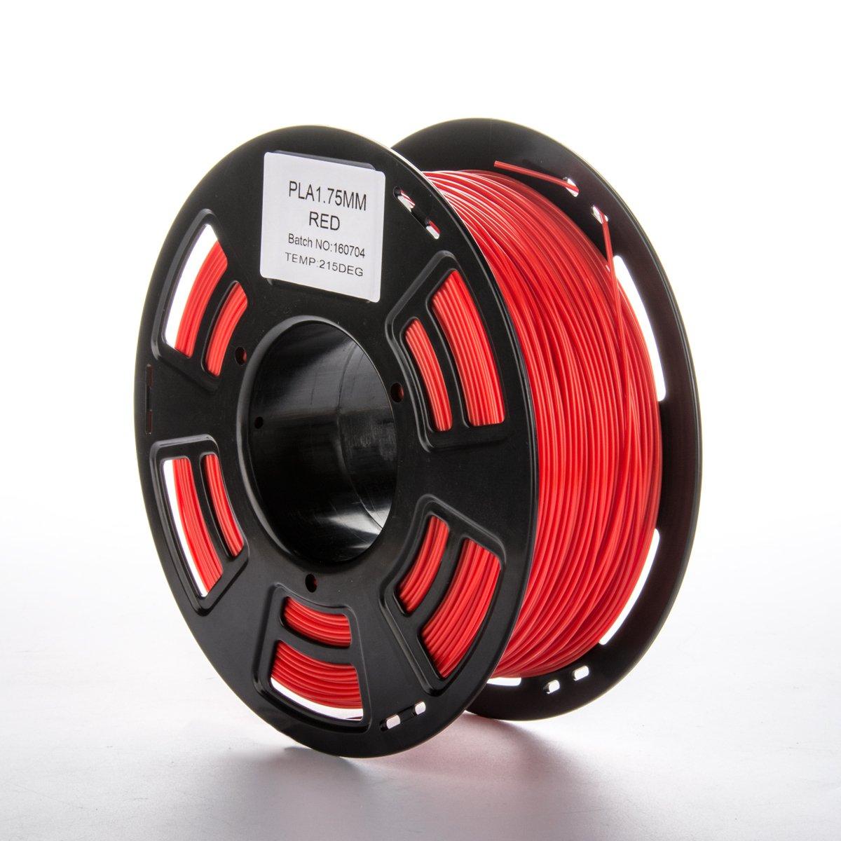 Imprimieux Imprimante 3D PLA Filament Plastique 1.75mm 1KG Vert