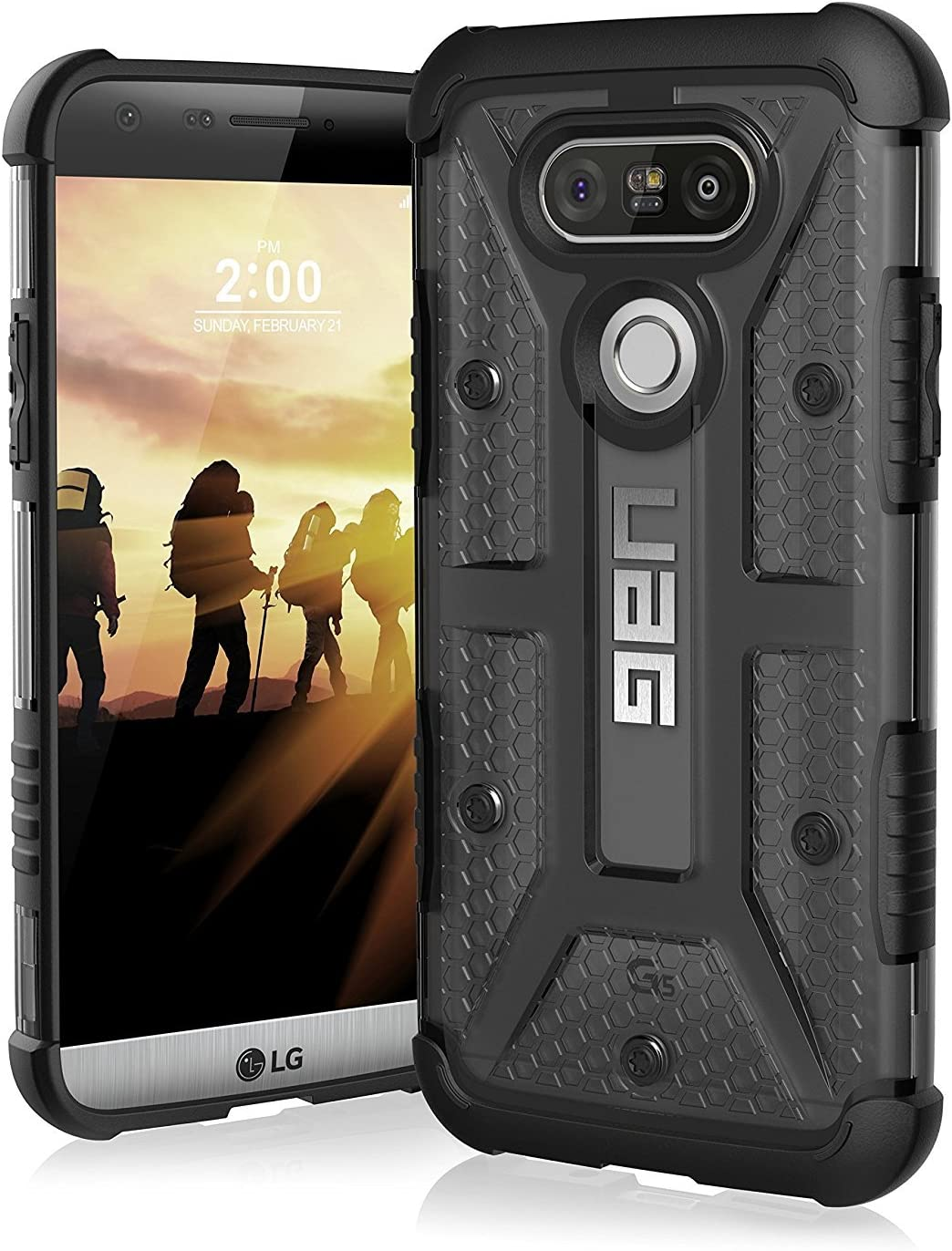UAG LG G5 Feather-Light Composite [ICE] Military Drop Tested Phone Case