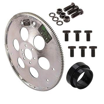 Gm 700r4 Transmission >> Amazon Com Gm Gen Iii Ls V8 Flexplate Adapter Kit To Th350