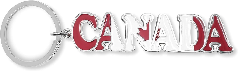 flagsandsouvenirs Keychain Canada Name