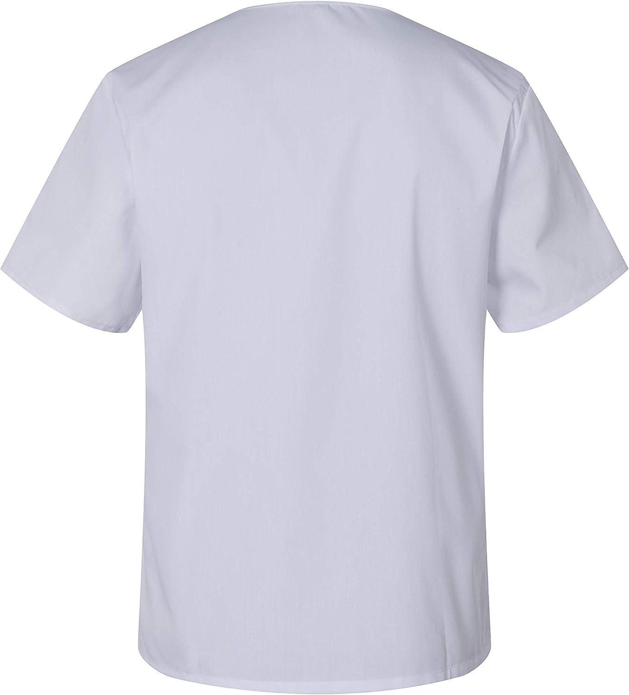 Blanco, S Uniformes Uno M/édico Unisex con Casaca y Pantalones Sanitarios 301-501