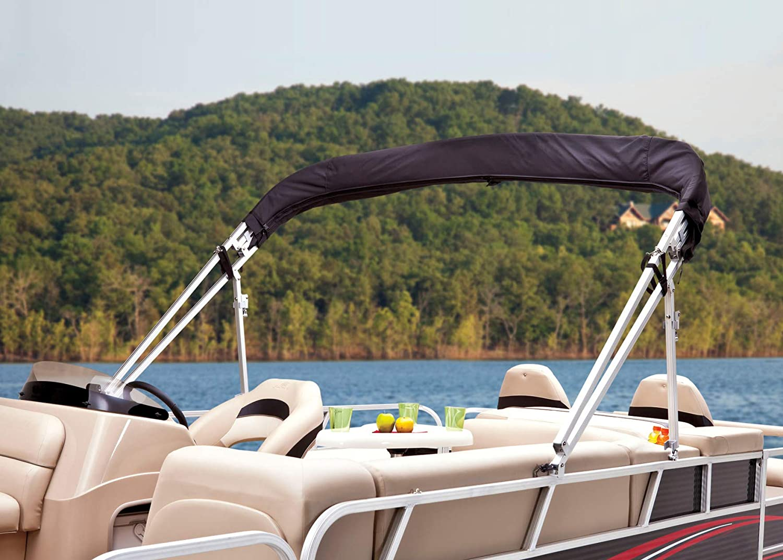 Dowco Marine 42351-07 Custom Fit Pontoon Boat Aft Bimini Top Canopy Storage Boot LOWE SUNCRUISER Navy Blue