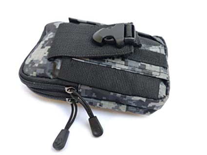 Tactical Multipurpose Pouch Army Camo Molle Bag Holster Cover Case Outdoor Waist Belt Military Gadget Hiking Pocket Zipper