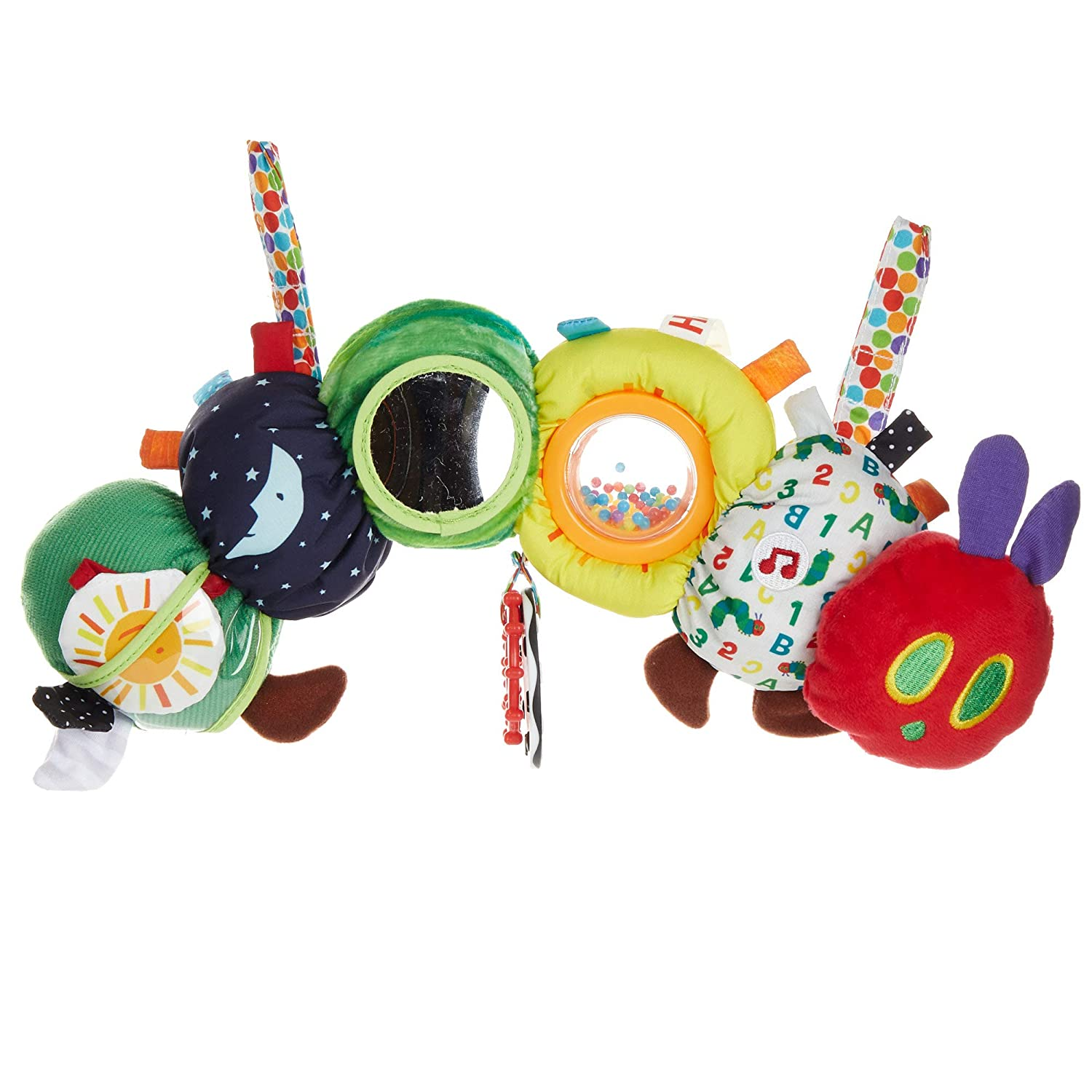Suitable From Birth The Very Hungry Caterpillar Mirror Teether Rattle