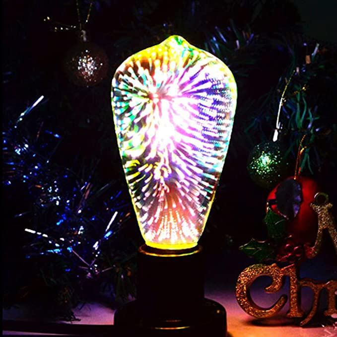Amazon.com: Etbotu E27 4W 85-265V Firework Bulb Decorative Lamp for Festival Parties: Home & Kitchen