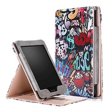 Amazon.com: iChicTec Case for Kindle Paperwhite 1/2/3/4 Flip ...
