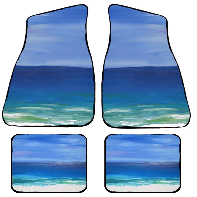 Beautiful Beach Art Auto Car Floor Mat Sets
