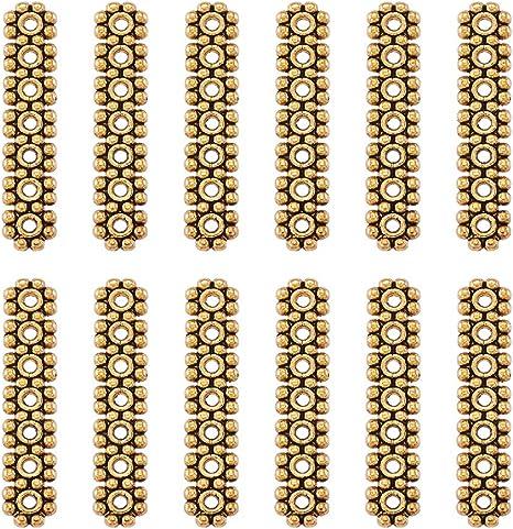 hole4.5MM 10pcs Tibetan Silver The Connector Charm Pendants 21MM SH1012