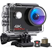 COOAU 4K 16MP Underwater Action Camera