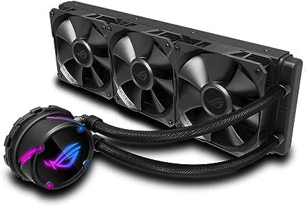 ASUS ROG Strix LC 360 - Sistema de refrigeración líquida de CPU, Aura Sync RGB, Tubo de Goma Reforzado de 38 cm, Ventiladores ROG RGB optimizados: Amazon.es: Informática