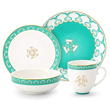 M-MAX Durable Ceramic Dinnerware Set