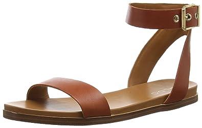 2481bafb04df7 Aldo Erina, Women's Flat Sandals, Red (Rust / 29), 4 UK (37 EU ...