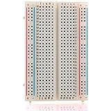 Neuftech 400 Kontakte Breadboard Steckbrett Lochraste Laborsteckboard Experimentierboard für raspberry pi / Arduino - Steckboard Steckplatine