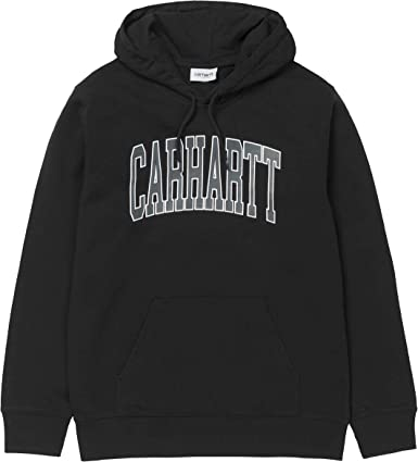 Carhartt Sweat à Capuche WIP Hooded Division Homme, Noir, XL