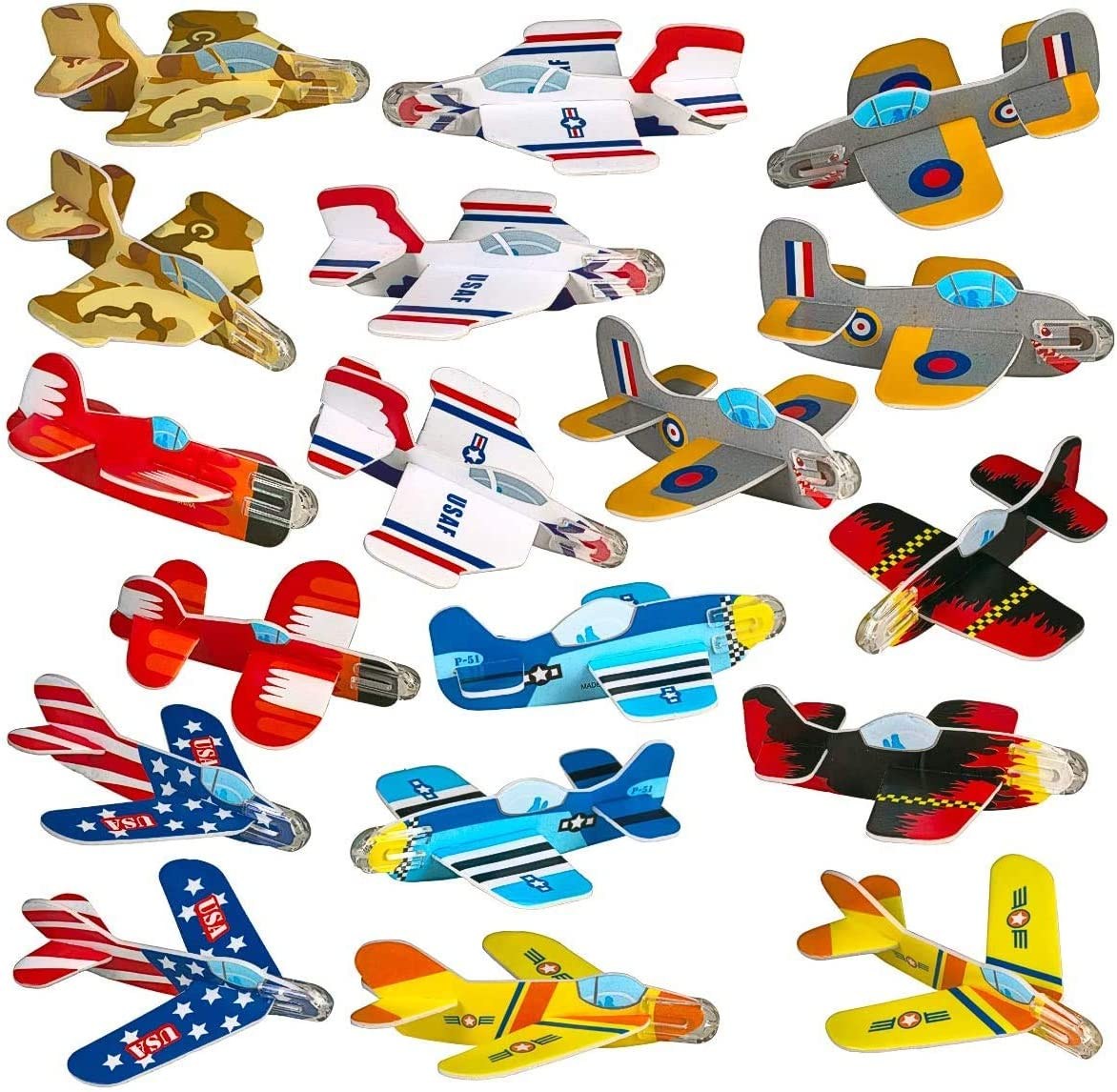 Hand Throw Glider Plane Model For Kids Children Birthday Party Favors blue 1PCS 15inch Foam Airplane Toys