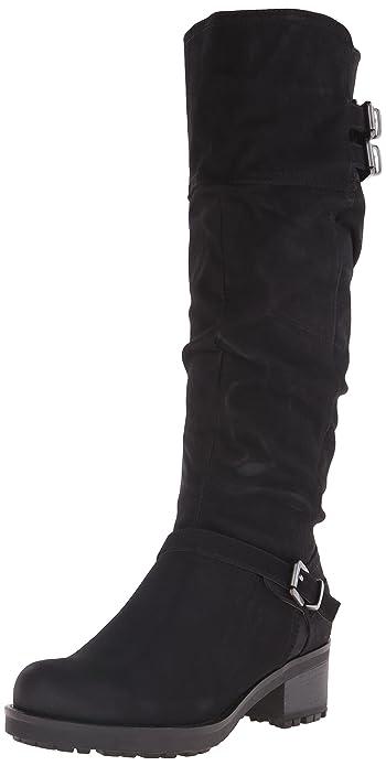 Block, Fashion Stiefel Mujeres, Geschlossener Zeh, Groesse 8 US /39 EU White Mountain