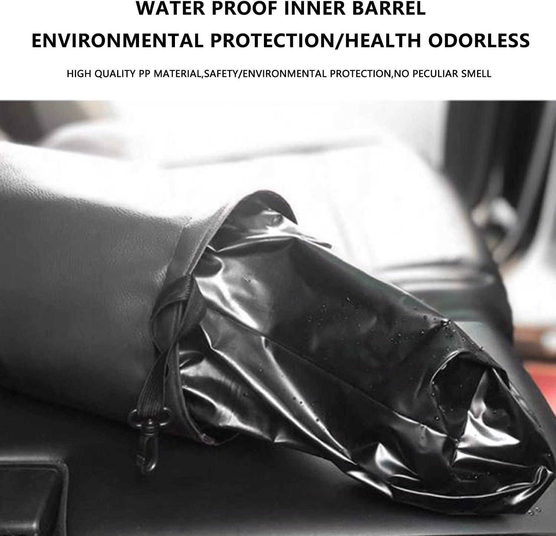 Portable Garbage Bin Waste Basket Bin Premium Rubbish Bin Car Trashcan Julema Car Trash Can Collapsible Pop-up Waterproof Leather Garbage Bag Car Organizer Trash Bin for Vehicle