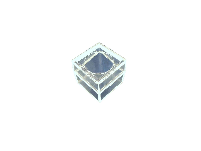 Ajax Scientific Plastic Magnifiers Micro Box, 3X magnification, Clear
