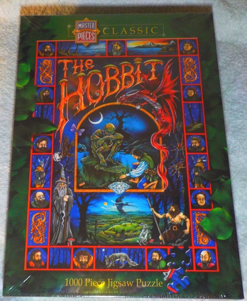 Hobbit 1000 Piece Puzzle by American Puzzles