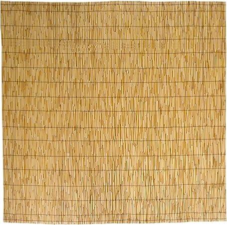 Mampara de caña de bambú, estera para sombra, de 150 x 300 cm, 1 ...