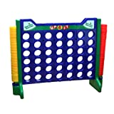 Garden Games Giant Up 4 It - Genuinely Giant Connect 4 Counters Game 110 Centimetres Tall x 146 Centimetres Wide