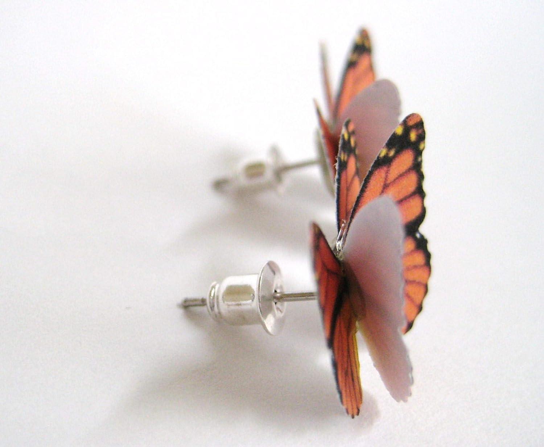 Spotlight Jewelry Butterfly Stud Earrings