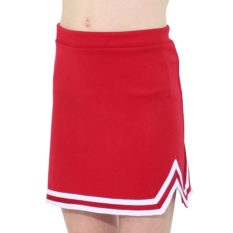 Danzcue Girls Double V A-Line Cheer Uniform Skirt