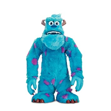 Amazon spinmaster monsters university scare off sulley spinmaster monsters university scare off sulley interactive plush voltagebd Image collections