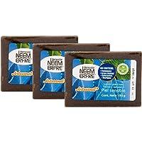 Jabon Para Piel Sensible Corporal de Hoja de Neem- Artesanal Vegano Natural Tea TREE Aceite Oliva- Sin Parabenos…