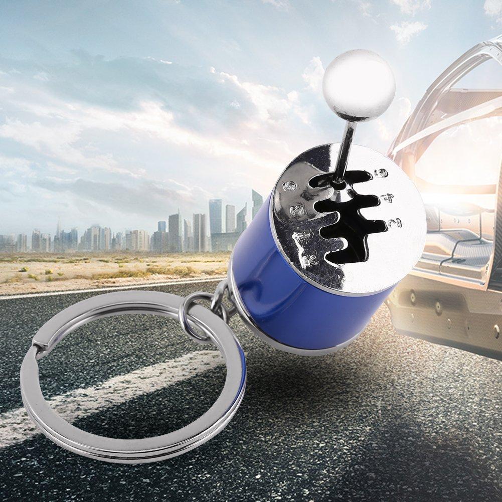 Creative Auto Part Model Gear Box Shifter Keychain Key Chain Ring
