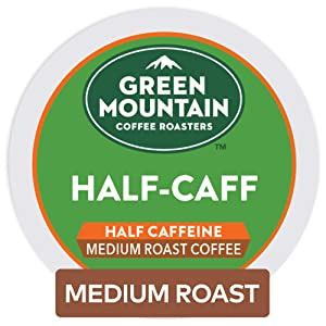 Green Mountain Coffee Half-Caff Keurig K-Cups Coffee, 12 ct