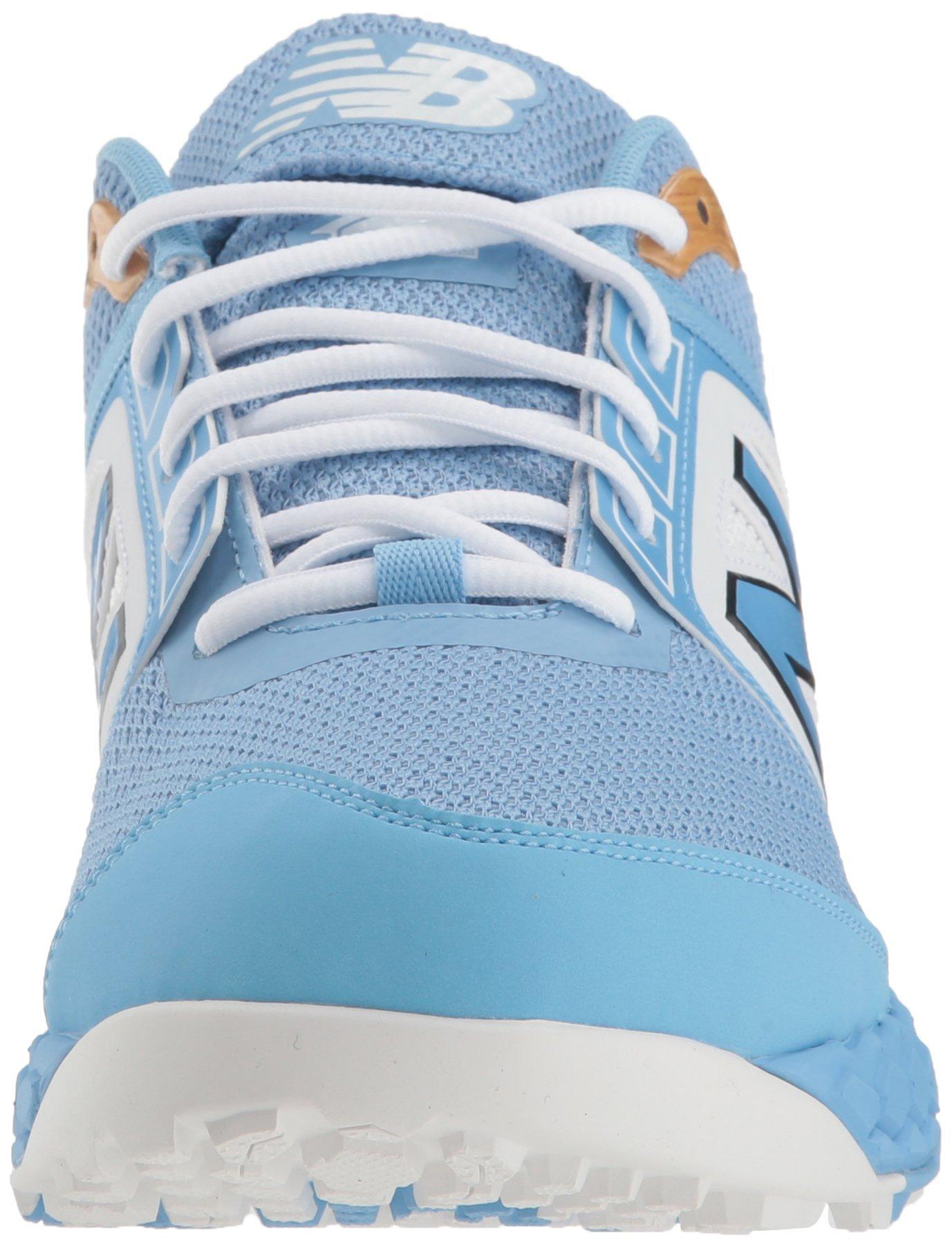 New Balance Men's 3000v4 Turf Baseball Shoe, Light Blue, 5 D US by New Balance (Image #4)
