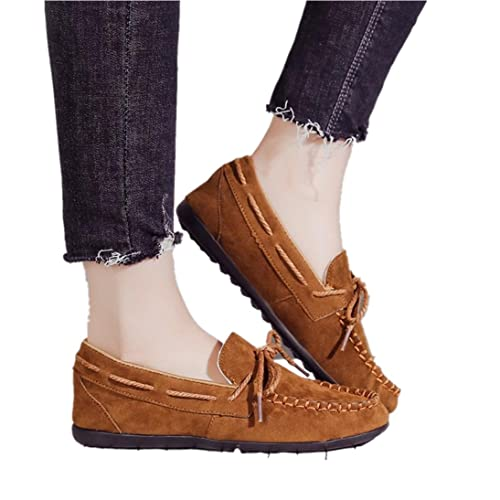 Fheaven (TM) Womens Loafers Moccasins Non-Slip Driving Casual Flats Oxfords Breathable Shoes