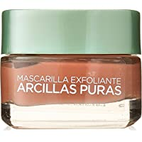Mascarilla exfoliante, Arcillas Puras, L'Oréal Paris, 40 ml