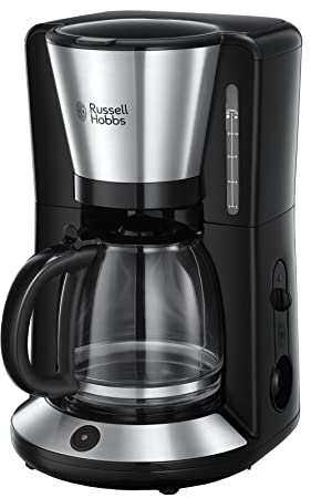 Russell Hobbs 24010-56/RH Adventure - Cafetera de acero inoxidable cepillado, 10