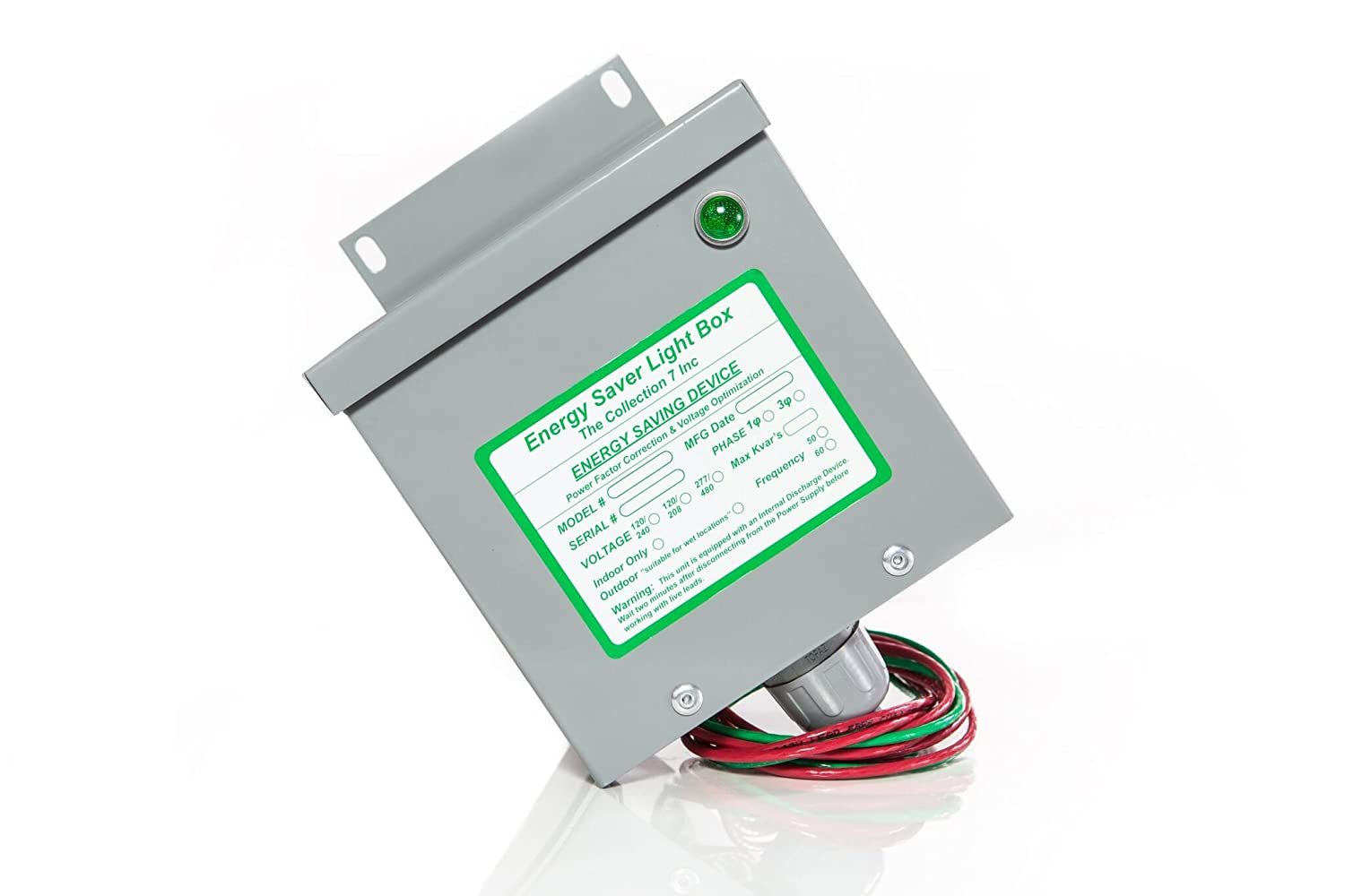 Amazon.com: Green Box Energy Saver 200 Amp Single Phase Residential Panel  Unit: Car Electronics