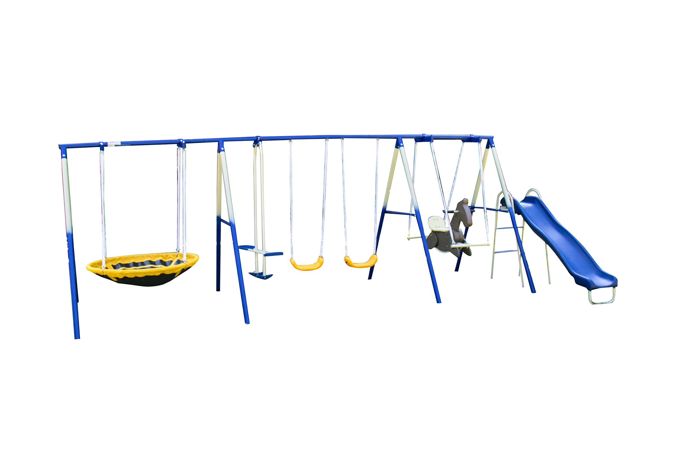 Sportspower Super 8 Fun Metal Swing Set by Sportspower (Image #1)