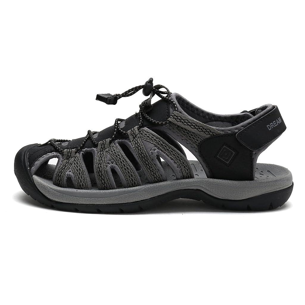 DREAM PAIRS Mens Outdoor Sandals